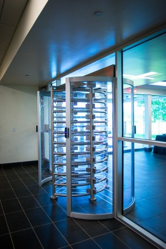 Colocation Data Center Turnstile